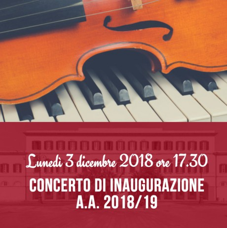 Concerto di inaugurazione Anno Accademico