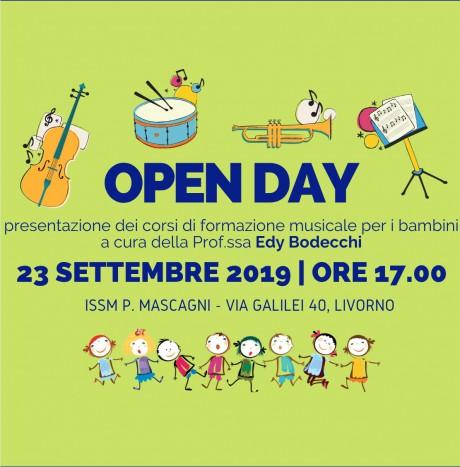 Open Day corsi per bambini