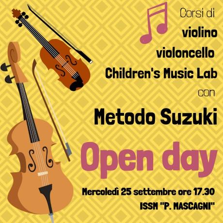 Open Day Metodo Suzuki